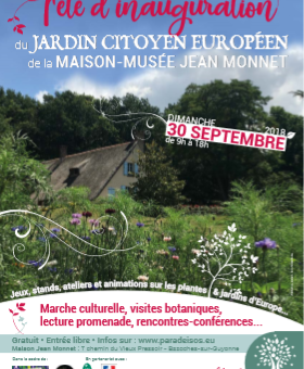 Fête inauguration Jardin Citoyen Européen / Paradeisos